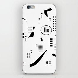 The Imprinting iPhone Skin
