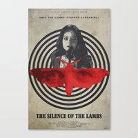 silence of the lambs Canvas Prints featuring Fava Beans - The Silence of the Lambs by Edward J. Moran II
