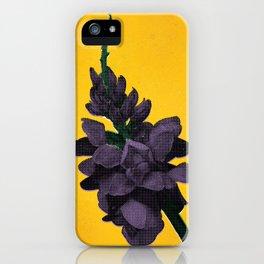 Invasive Species Series: Kudzu Flower iPhone Case