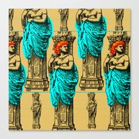 antique Canvas Prints featuring Antique by CottonMouth