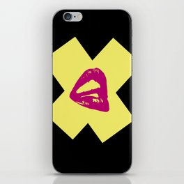 Kiss X iPhone Skin