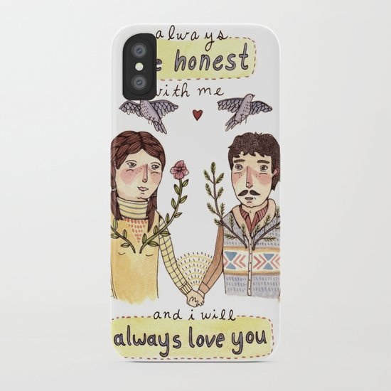 Always Be Honest iPhone Case