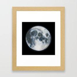 Moon Portrait 1 Framed Art Print