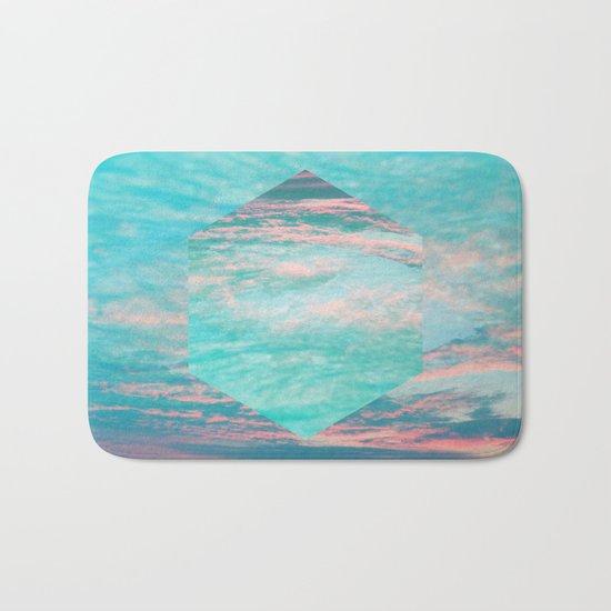 An underwater sunset Bath Mat