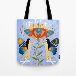 Growth and expansion Tote Bag
