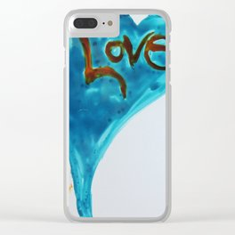 Love duo | Duo d'amour Clear iPhone Case