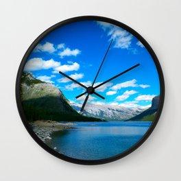 Lake Minnewanka Wall Clock