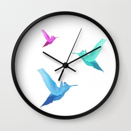 Little bird of happiness Wall Clock
