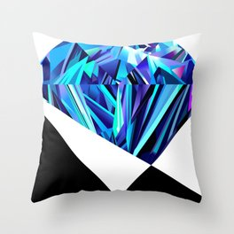 Anatomy of a Diamond Throw Pillow