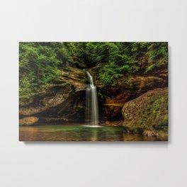 USA Hocking Hills State Park Logan Ohio Nature Waterfalls Parks Moss park Metal Print
