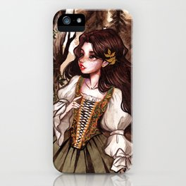 In the woods iPhone Case