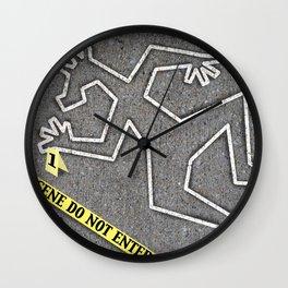 CSI Unicorn Wall Clock