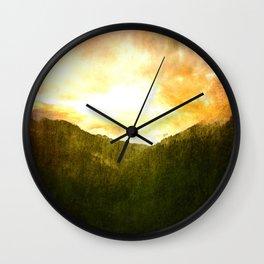 A Beautiful Transformation Wall Clock
