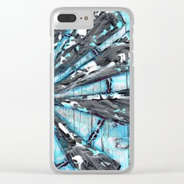Sheer Joy Clear iPhone Case