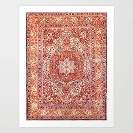 Tabriz Azerbaijan Northwest Persian Rug Print Art Print