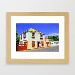 Bright House Framed Art Print