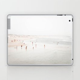 At the Beach (two) Laptop & iPad Skin