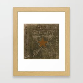 HMK Mercury Star Framed Art Print