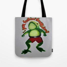 Feelin' Froggy, Son? Tote Bag