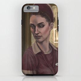 a moment's silence iPhone Case