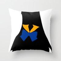 sailor venus Throw Pillows featuring Sailor Venus by hunnydoll