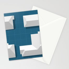 Roofscape #1 Stationery Cards