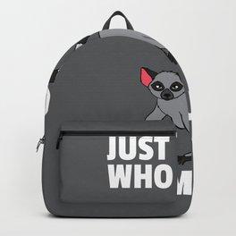 Lemur Monkeys Funny Animal Love Lovers Backpack