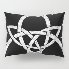 Rustic Celtic Knot - Inverted Pillow Sham