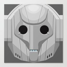 Cyberman - Doctor Who Canvas Print