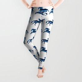 Blue Horse Leggings