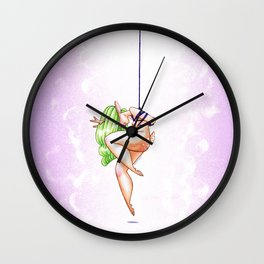 Kinbaku Faun Wall Clock