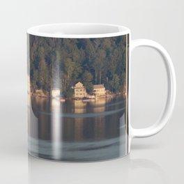 Houses on the Newfound Lake Coffee Mug