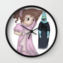 Hercules' Meg/Megara and Hades Wall Clock