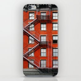 new york city ... fire escape iPhone Skin