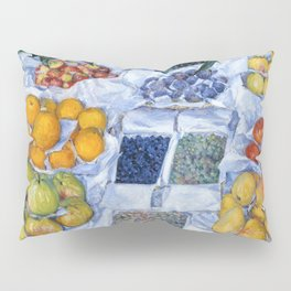 Fruit Displayed On A Stand - Digital Remastered Edition Pillow Sham