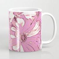 daisy Mugs featuring Daisy  by Saundra Myles