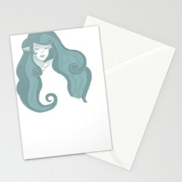 Nayru - The Goddess of Wisdom (no background) Stationery Cards