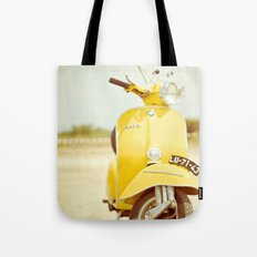 Mod Style in Yellow Tote Bag