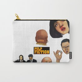 Pulp Fiction Movie Poster Mia Wallace Classic Carry-All Pouch