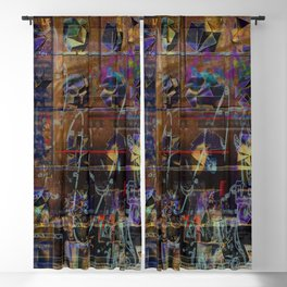 Curiosity Cabinet No. 102 [Recombinant Series] Blackout Curtain