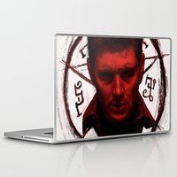 demon Laptop & iPad Skins featuring Demon by DartFushka