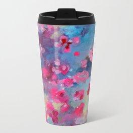 Cherry Blossom Weather Metal Travel Mug