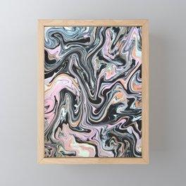 Have a little Swirl Framed Mini Art Print