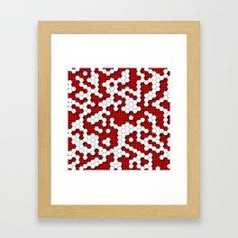 Red Armor Framed Art Print