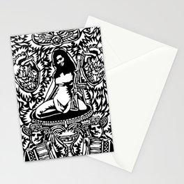 El Paseo De La Patrona  Stationery Cards