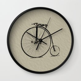 19th Century Bicycle Wall Clock