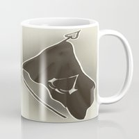 assassins creed Mugs featuring Assassins Creed Flags by TiffaArts