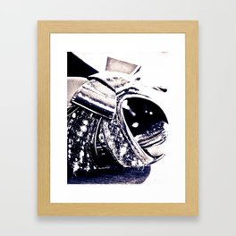 Bow Tie and Top Hat Framed Art Print