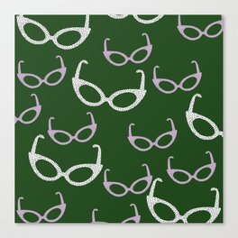 cat sunnies III Canvas Print