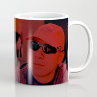 sport Mugs featuring Red Sport by Ailav